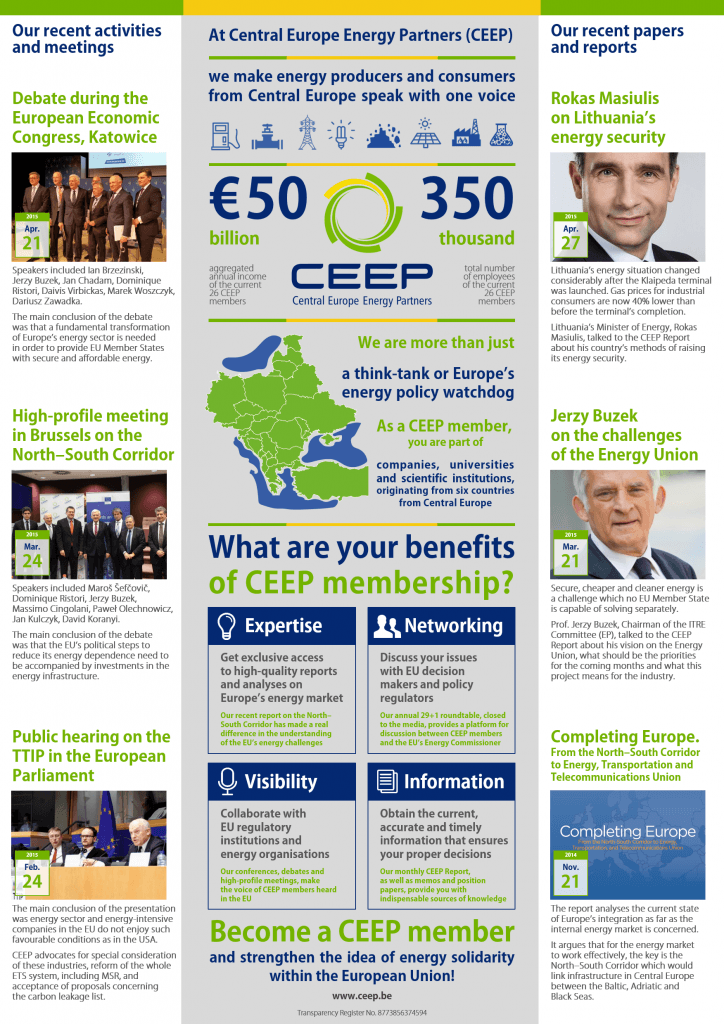 Why become a CEEP member_Infographic