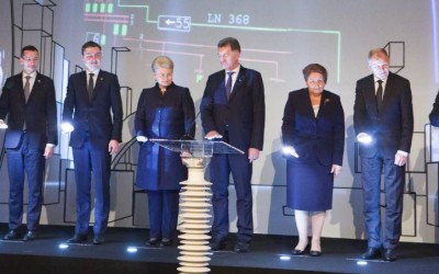New interconnections open electricity highways to Europe for the Baltic countries