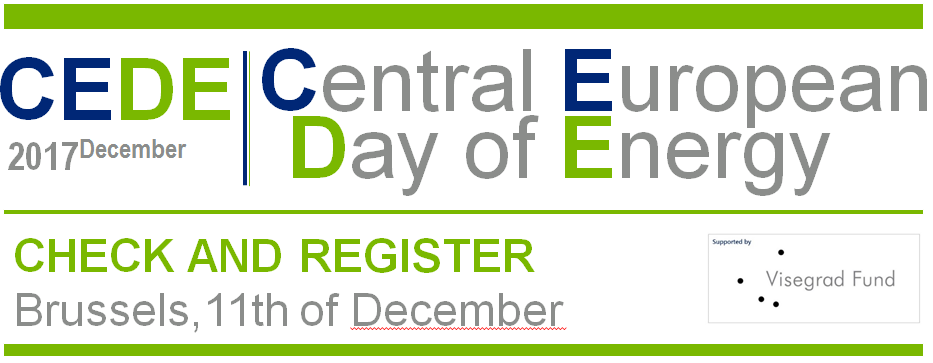 Register for the 2nd Central European Day of Energy