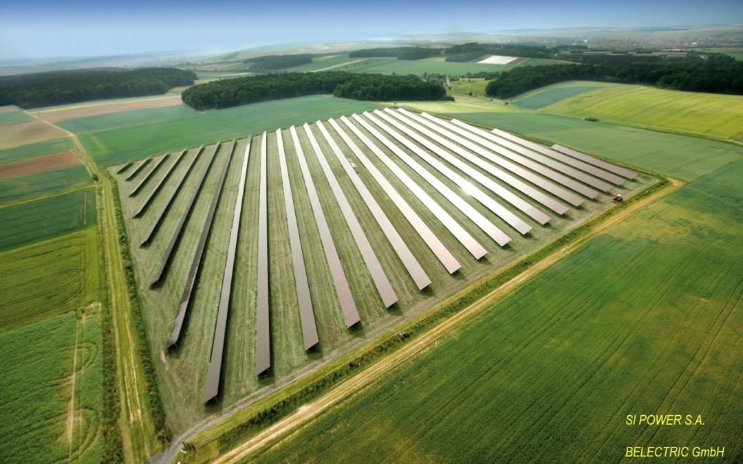 First solar power plant in Europe to provide operating reserve at the high-voltage level
