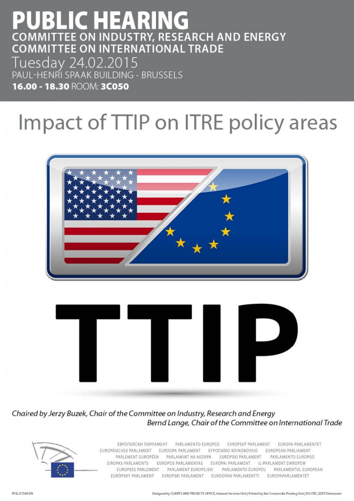 poster TTIP hearing