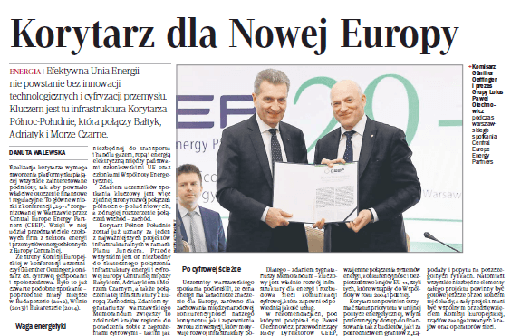 Rzeczpospolita: The Corridor for a New Europe (PL)