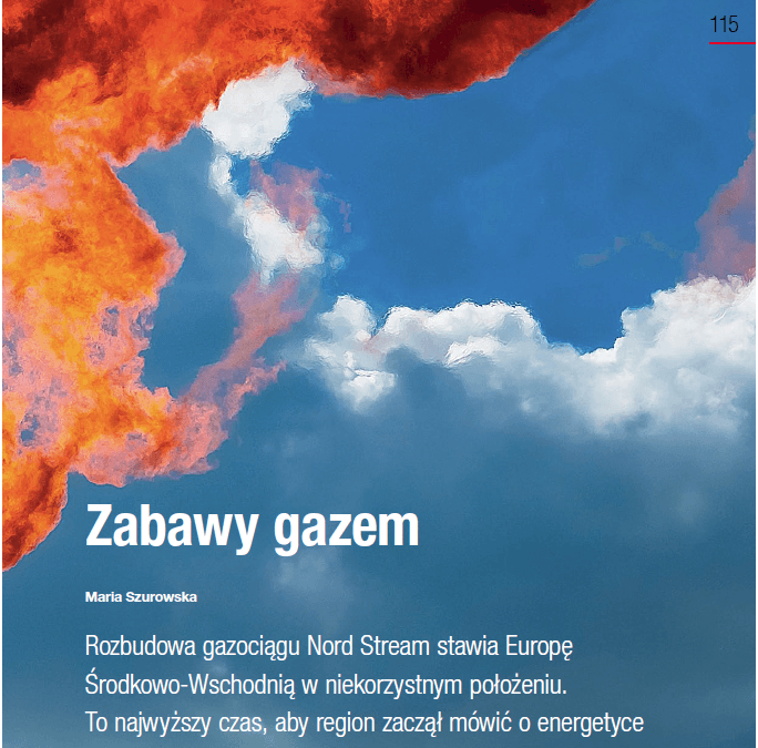 Gazeta Bankowa: Playing with gas