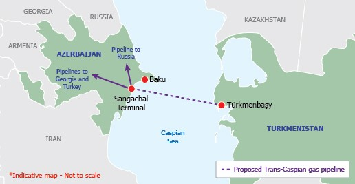 Fully-fledged Southern Gas Corridor by 2020: European gas race between Iran and Turkmenistan