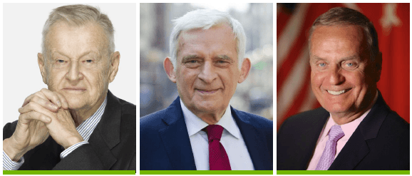 Zbigniew Brzezinski, Jerzy Buzek and James Jones are the honorary members of CEEP