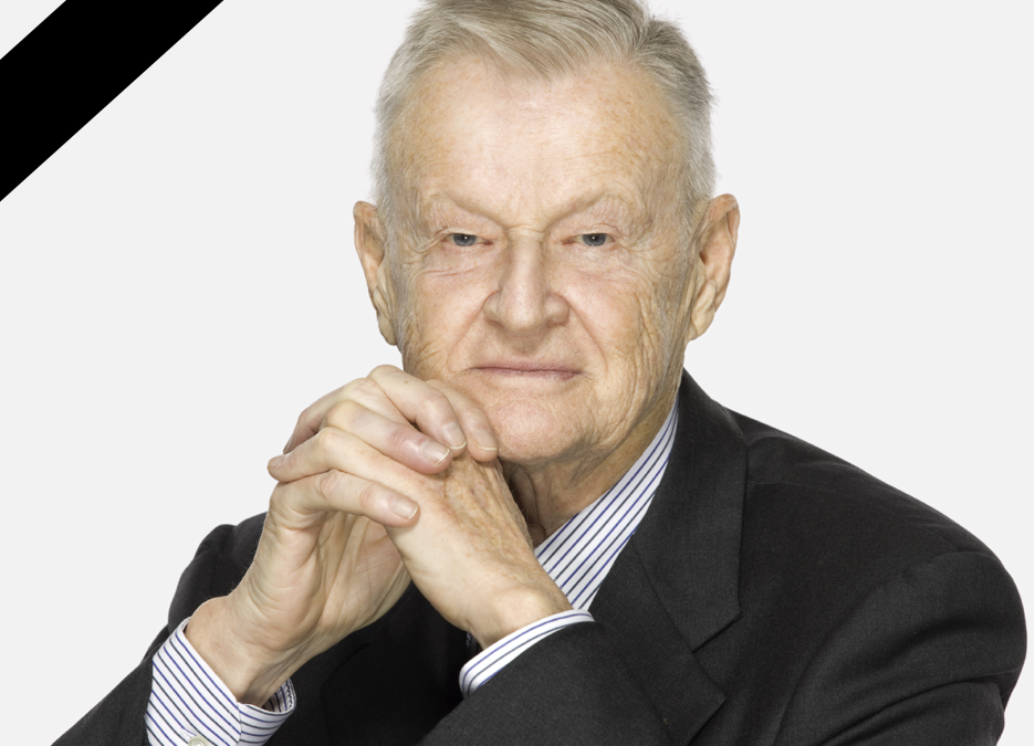 Zbigniew Brzezinski, CEEP's honorary member, died at 89