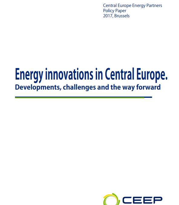 Energy innovations in Central Europe. Developments, challenges and ways forward