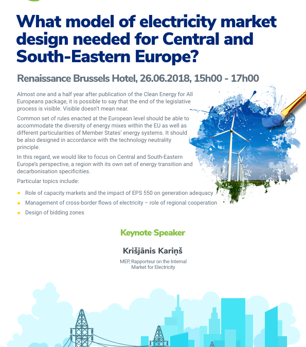 What model of electricity market design needed for Central and South-Eastern Europe?