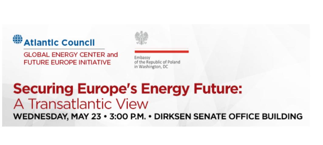 EVENT PARTNER: Securing Europe's Energy Future – A Transatlantic View