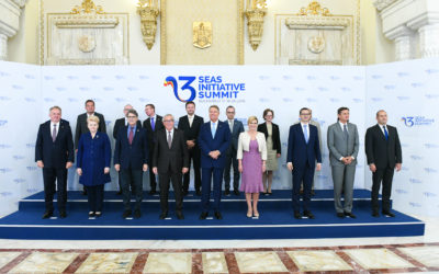 Priority projects in energy field adopted during the Three Seas Initiative Summit in Bucharest