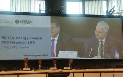 U.S. LNG to Europe: 1st EU-U.S. Energy Council B2B Energy Forum
