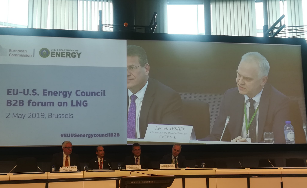 U.S. LNG to Europe: 1st EU-U.S. Energy Council B2B Energy Forum