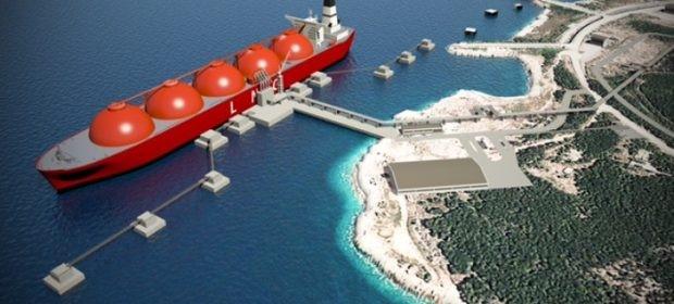 Construction of LNG terminal on Krk Island advances