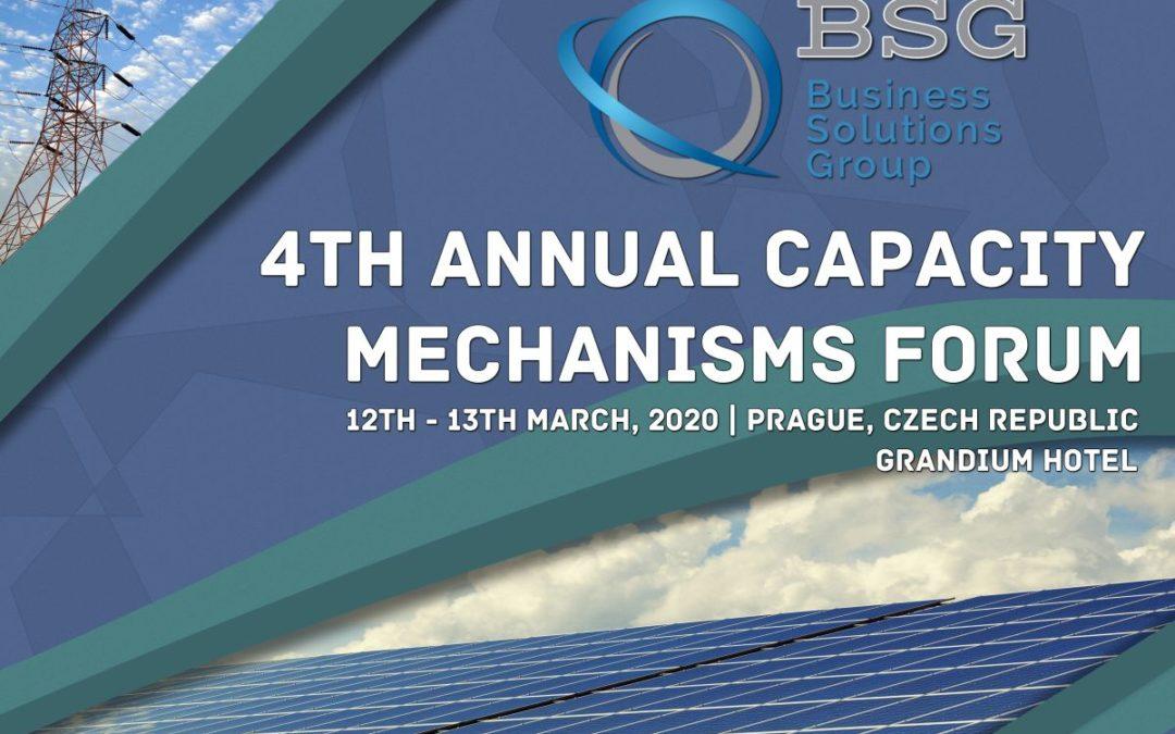 4th Annual Capacity Mechanisms Forum