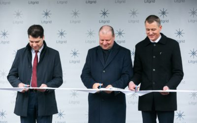 Opening of the New Lithuanian Power System Management and Data Centre