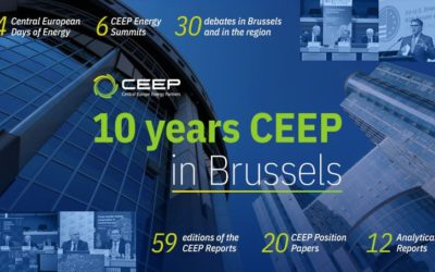 10 years CEEP in Brussels – first association representing energy and energy intensive stakeholders from Central Eastern Europe