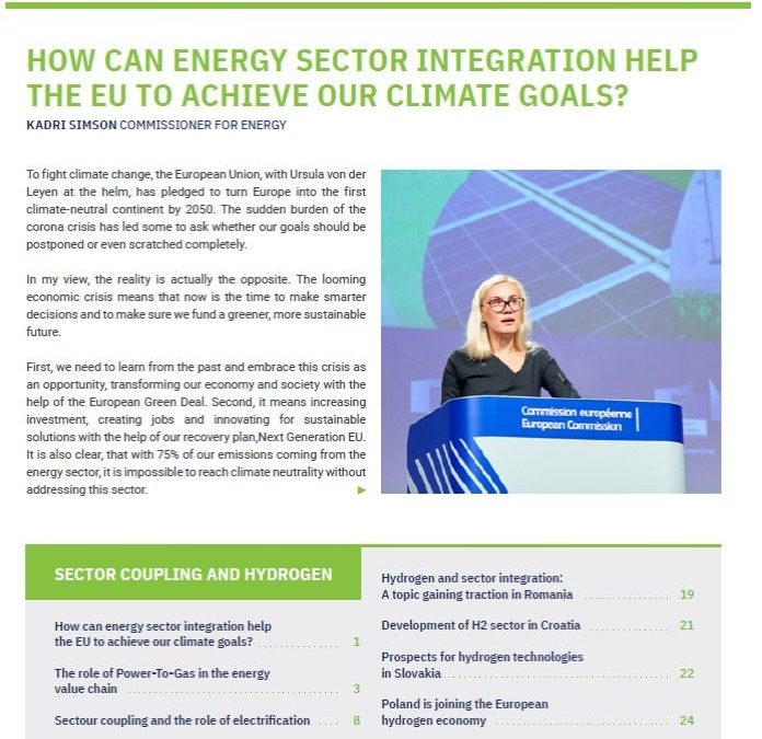 CEEP report Q2 2020 Energy System Integration and the role of hydrogen