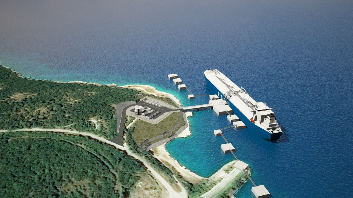 Krk LNG terminal fully booked for next years