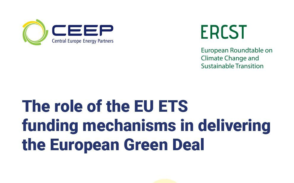 Event: The role of the EU ETS funding mechanisms in delivering the European Green Deal