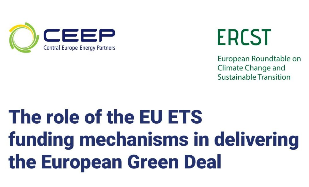 CEEP-ERCST paper: The role of the EU ETS funding mechanisms in delivering the European Green Deal