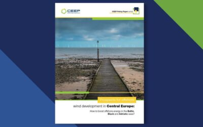 The latest CEEP Policy Paper, discussing prospects for offshore wind development in Central Europe, is out!