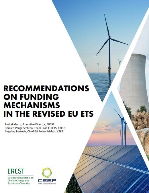 ERCST-CEEP's recommendations on funding mechanisms in the revised EU ETS