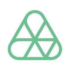 amber grid logo green